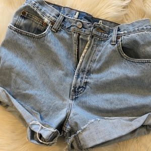 Gap jeans size 12 cut off shorts